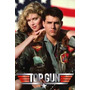 Top Gun - Tom Cruise Y Kelly Mcgillis - Lámina 45x30 Cm.