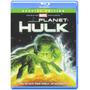 Planet Hulk Ediciòn Especial Pelìcula Animada Blu Ray