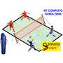 Cancha De Futbol Tenis Profesional Santana (kit Completo)