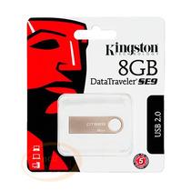 Pen Drives Kingston Original Datatraveler Plateado Se9 8gb
