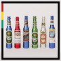 Pipas De Metal Con Forma De Botella, Varios Colores Y Marcas