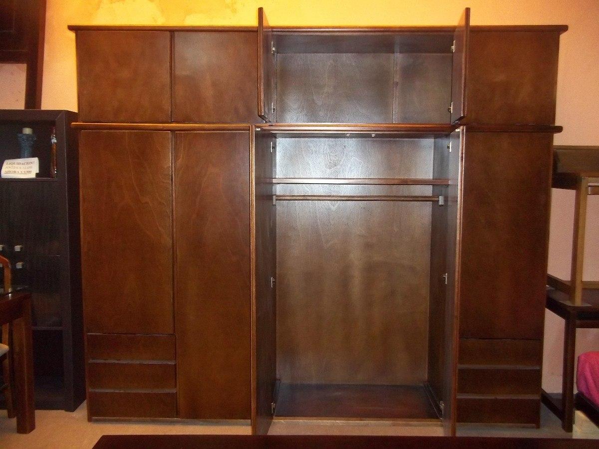 Perchero ropero de dormitorio estante s 79 00 en roperos - Roperos para dormitorios ...