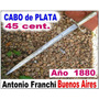 Daga Antigua Franchi Bs As. Plata No Cuchillo Broqua