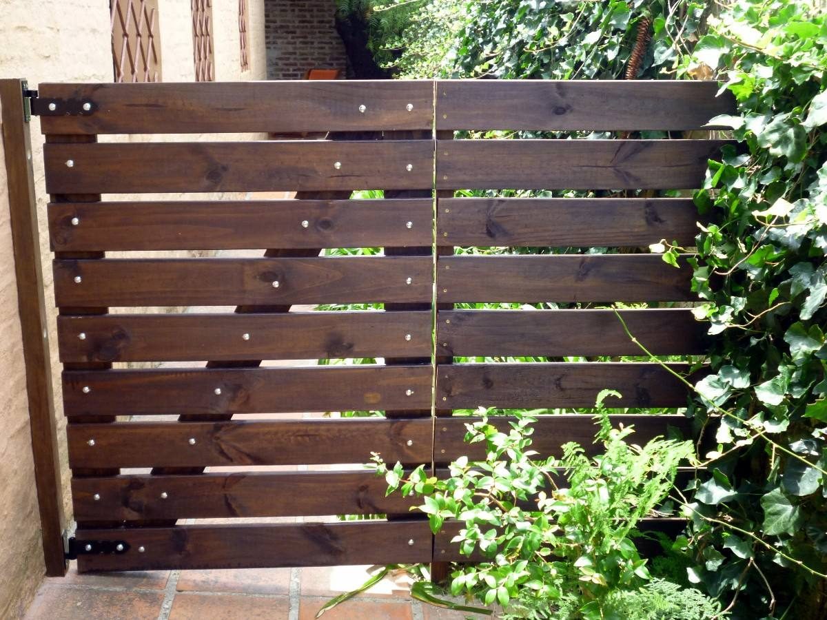 Top cercas de madera para jardin wallpapers - Madera para jardin ...