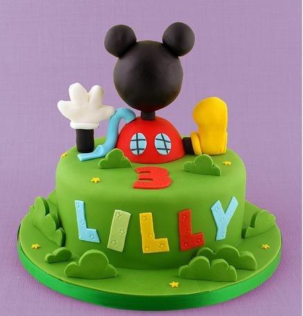 Tortas y decoración de Mickey - Imagui