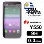 Vidrio Templado Huawei Y550, Ascend Y550 Colocación Incluida