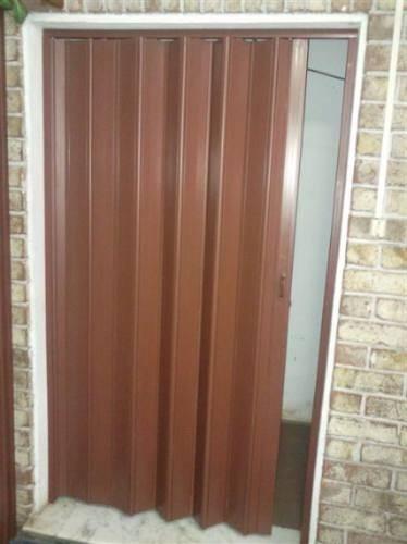 Puertas De Baño Plegables:Puertas Plegables Pvc! Medida Standar Precio X Unidad