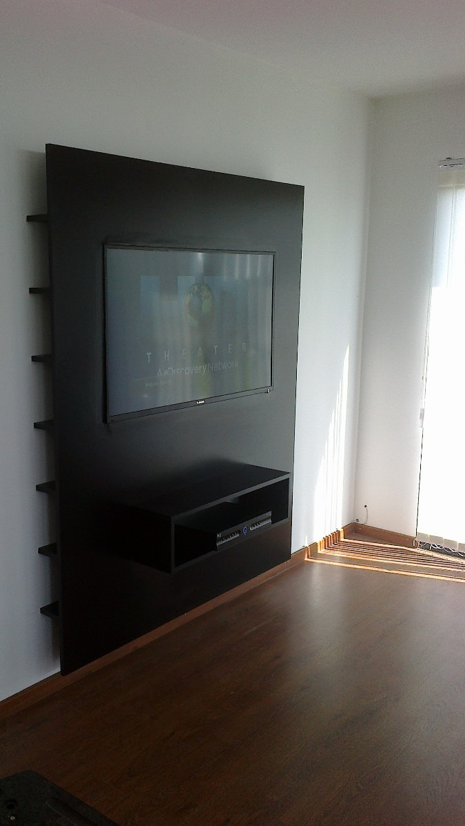 Rack para tv soporte para tv plasma lcd minimalista car - Muebles para tv plana ...