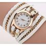 Pulsera Reloj Cuero Natural