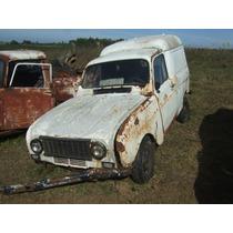 Renault 4 S Motor Y Caja Repuestos Leer Aviso