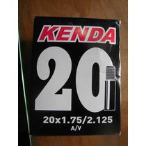 Cámara Bicicleta Kenda 20x1,75/2,125 Válvula Gruesa