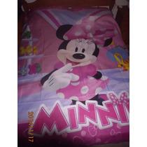 Divino!!cubrecama O Colcha Infantil Minnie 1plaza Nueva