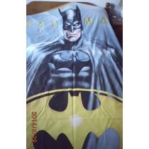 Batman!!! Cubrecama O Colcha Fina 1plaza Nueva Cama,sommier