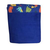 Frazada Para Cuna Estampada En Azul 100x150 Eskimo - Dormire