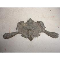 Mueble Antiguo Herraje Antiguo De Bronce