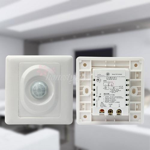 Sensor de movimiento de embutir para luz autom tica - Sensor de luz precio ...