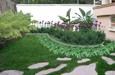 Servicio de jardineria poda colocacion de cesped y - Fotos de jardines modernos minimalistas ...