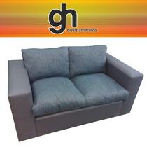 Sofa De 2 Cuerpos Modelo Exclusivo De Gh.equipamientos !!!!!