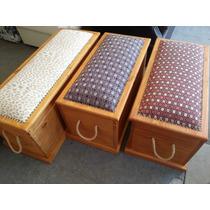 Baul Botinera Mueble Madera Maciza Decoración Con Garantía