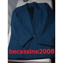 Chaqueta O Blazer Color Azul Marino - Talle M O 44 -