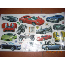 Autos, Mercedes, Ferrari, Bugatti Stickers Pared