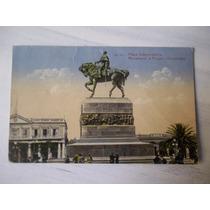 Postal Plaza Independencia Montevideo Uruguay Carluccio
