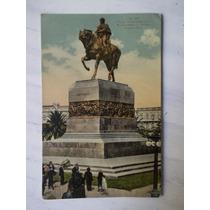 Postal Plaza Independencia Montevideo Uruguay Carluccio 1925
