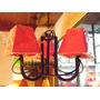 Oferta!!! Araña Colgante De 3 Luces En Hierro Rustico
