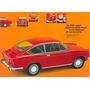 Fiat 850 Sport - Autos Clásicos - Lámina 45 X 30 Cm.