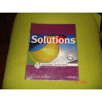 Solutions Intermediate Student´s Book Con Cd Oxford