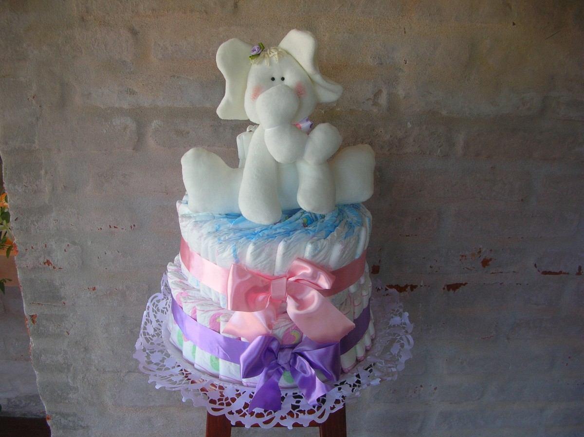 13 como hacer un pastel de pa ales para el baby shower