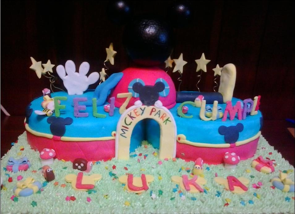 Torta Mickey Club House Mickey Mouse - $ 450,00 en MercadoLibre