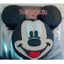 Torta Cara Mickey Y Minnie Baño Wilton , (precio X Kilo)