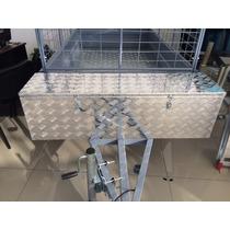 Box Herramientas Para Trailer De Aluminio