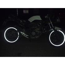 Cintas Para Llantas D Moto Reflectivas,adhesivo,calco,ruedas