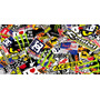 Planchas Sticker Bomb,motos,calcos,adhesivos,tuning