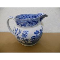 Jarra Antigua Semi China Blue Willow 1832 - W Ridgeway & Co
