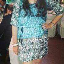 Vestido De Fiesta Paola Santos