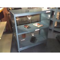 Mostrador, Vitrina, Exhibidor, 0,40 X 0,84 X 1mts. Fabrica.