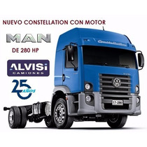 Volkswagen Constellation Motor Man 280hp 4x2 Alvisi S. A.