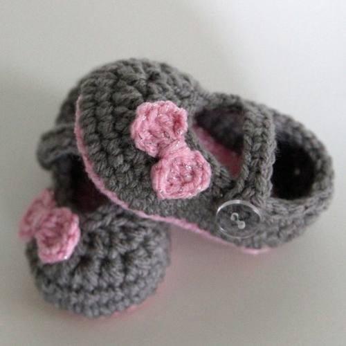 Zapatitos, Botitas Accesorios De Crochet Para Bebes Y Ni?os. - $ 250 ...