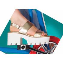 Paddock Calzado Sandalia Plataforma Dama