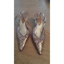 Divinos Zapatos En Cuero Trenzado De Calidad Ideal Vestir