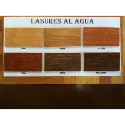 Impregnante p madera lasur natural tonalidades x1 l - Barniz para madera colores ...