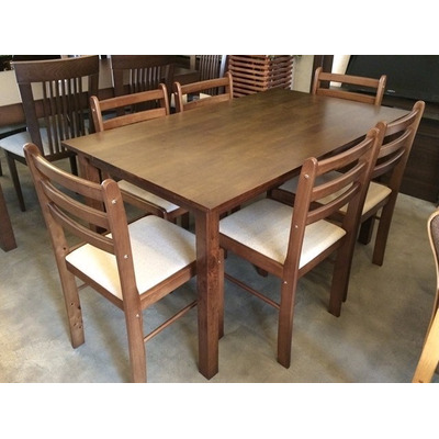 Juego de comedor con 6 sillas ref 750 mesa rectangular u - Sillas de comedor usadas ...