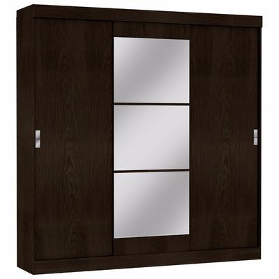 Placard ropero de 3 puertas corredizas con espejos 7 Puertas corredizas seguras