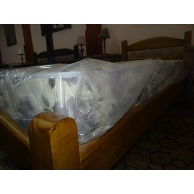 Cama 1 plaza tablones bien juntos encastrada en for Sofa cama 1 plaza mercadolibre