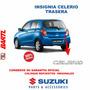 Insignia Celerio Trasera Original Suzuki Celerio 2014-17