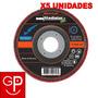 Discos Flap 4 1/2'' G40 Acero Inox. Gladiator X5 Uni. G P | GP HOGARYTALLER
