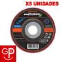 Discos Flap 4 1/2'' G100 Madera/acero Gladiator X5 Uni. G P | GP HOGARYTALLER